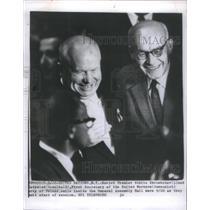 1920 Press Photo Nikita Khrushchev Ladyslaw Gomukla United Worker Poland