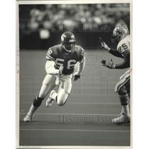 1988 Press Photo Minnesota Vikings football linebacker, Chris Doleman