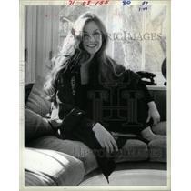 1981 Press Photo Lannie Garrett Female Vocalist Denver - RRX28503