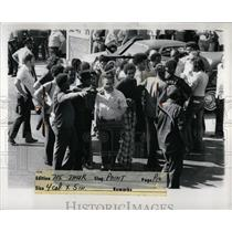 1973 Press Photo Chrysler Strike Joe Zappa Union Leader - RRW87731