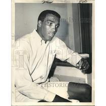 1974 Press Photo New Orleans Saints Football Player John Gilliam - noo21853