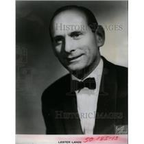 1981 Press Photo Lester Lanin Bandleader Debutante Hall - RRX28457