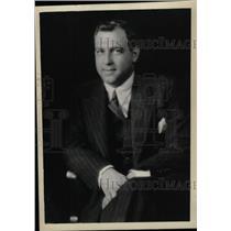 1933 Press Photo Richard Alexander Crooks Metropolitan - RRW79013