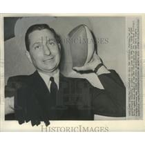 1960 Press Photo New coach of New York Giants football team, Al Sherman