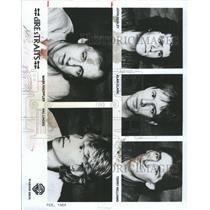 1984 Press Photo Dire Straits Illsley Clark Williams - RRX91983