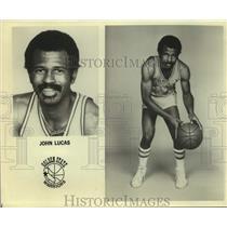 Press Photo Golden State Warriors basketball player John Lucas - sas17845