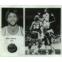 Press Photo Houston Rockets basketball player Mike Newlin - sas17886