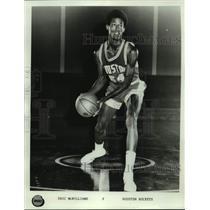 Press Photo Houston Rockets basketball player Eric McWilliams - sas17669