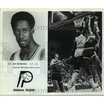 Press Photo Indiana Pacers basketball player Dan Roundfield - sas17891