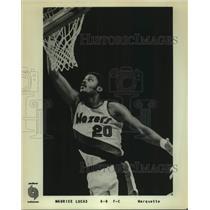 Press Photo Portland Trail Blazers basketball player Maurice Lucas - sas17626