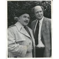 1984 Press Photo Ed Asner Film TV Stage Voice Actor - RRV77913