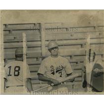 1972 Press Photo Bucs high school baseball player Calvin Gagneau - nos12349