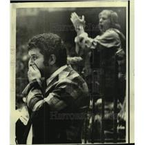1974 Press Photo Boston Bruins hockey coach Bep Guidolin - nos13067