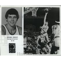 1979 Press Photo Phoenix Suns basketball player Bayard Forrest - nos12526