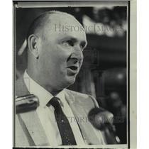 1968 Press Photo Kansas City Royals baseball manager Joe Gordon - nos13273