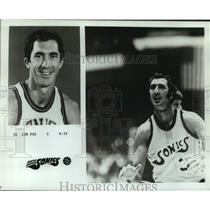 1975 Press Photo Seattle SuperSonics basketball player Jim Fox - nos14065