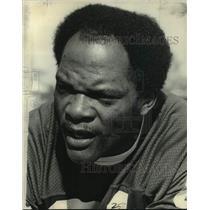 1977 Press Photo Minnesota Vikings football player Carl Eller - nos13360