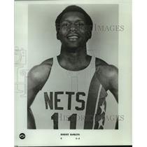 1978 Press Photo New Jersey Nets basketball player Robert Hawkins - nos14766