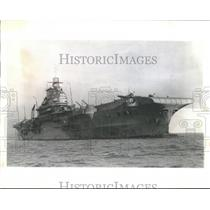 1913 Press Photo The HMS Indomitable, British aircraft carrier - mjb13925