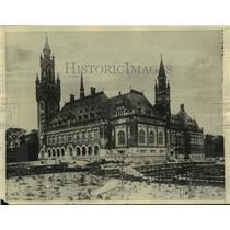 1922 Press Photo Carnegie Peace Palace, The Hague, Holland - mjc36707