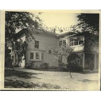 1927 Press Photo Milwaukee County Girl Scout cottage, South Milwaukee, Wisconsin
