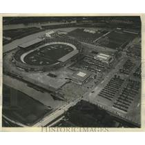 1928 Press Photo Scene Of The Ninth Olympiad Stadium In Amsterdam, Holland