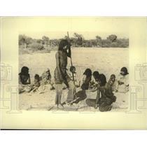 1934 Press Photo Native American dance ceremony - mjc38162