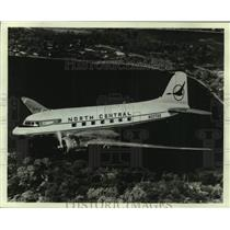 1975 Press Photo North Central Airlines has donated this DC-3 to the Henry Ford