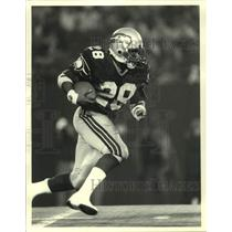 1988 Press Photo Seattle Seahawks Football Running Back Curt Warner - sas19897