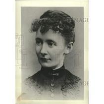 1887 Press Photo Folk artist Anna Mary Robertson Moses as a bride - mjc40197