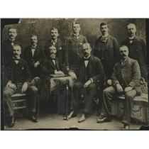 1897 Press Photo Milwaukee municipal and police court officials portrait