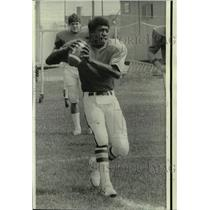 1974 Press Photo New York Jets football player Joe Jones - nos17494