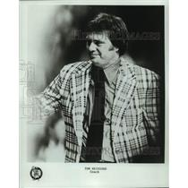 1977 Press Photo Boston Celtics basketball coach Tom Heinsohn - nos17400