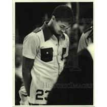 1978 Press Photo New Orleans Jazz basketball player Aaron James - nos17539