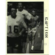 1978 Press Photo New Orleans Saints - Rick Kingrea at Training Camp - nos17652