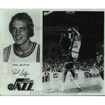 1979 Press Photo New Orleans Jazz basketball player Paul Griffin - nos18485