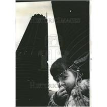 1971 Press Photo Margaret Thomas Chicago girl native - RRV69589