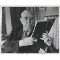 1952 Press Photo Nobel Prize Winner Giuseppe A. Borgese- RSA54071