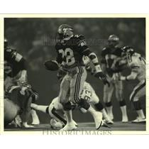 1988 Press Photo Seattle Seahawks Football Player Curt Warner During Game