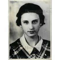 1933 Press Photo Peggy Ann Garner American Actress - RRX41693