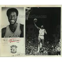 1978 Press Photo Golden State Warriors Basketball Player Gus Williams Shoots