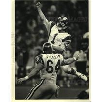 1983 Press Photo Los Angeles Rams football kicker Mike Lansford - nos18824