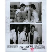 Press Photo 1992 Drama Film Article 99 Ron Cutler Movie - RRW09125