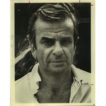 1983 Press Photo Richard Adler, Composer in closeup portrait - sap09952
