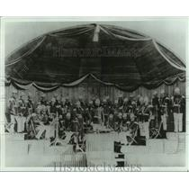 1891 Press Photo Marine Band in Cape May, N.J. - John Philip Sousa, conductor