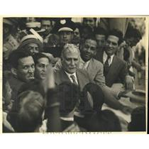 1934 Press Photo Colonel Carlos Mendieta. - nox39760