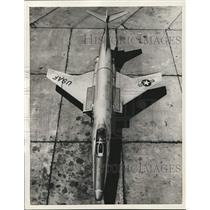 1956 Press Photo Voodoo, United States Air Force plane - lrx39329