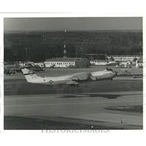 1977 Press Photo U.S Air Force YC-141B Stretched StarLifter by Lockheed-Georgia