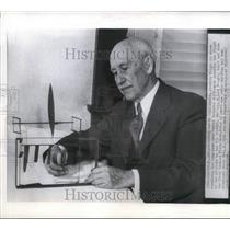 1946 Press Photo Aviation Pioneer Orville Wright, Dayton, Ohio - mjx35388