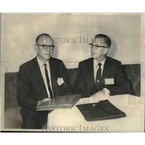 1968 Press Photo Airports Executives conference at the Roosevelt Hotel